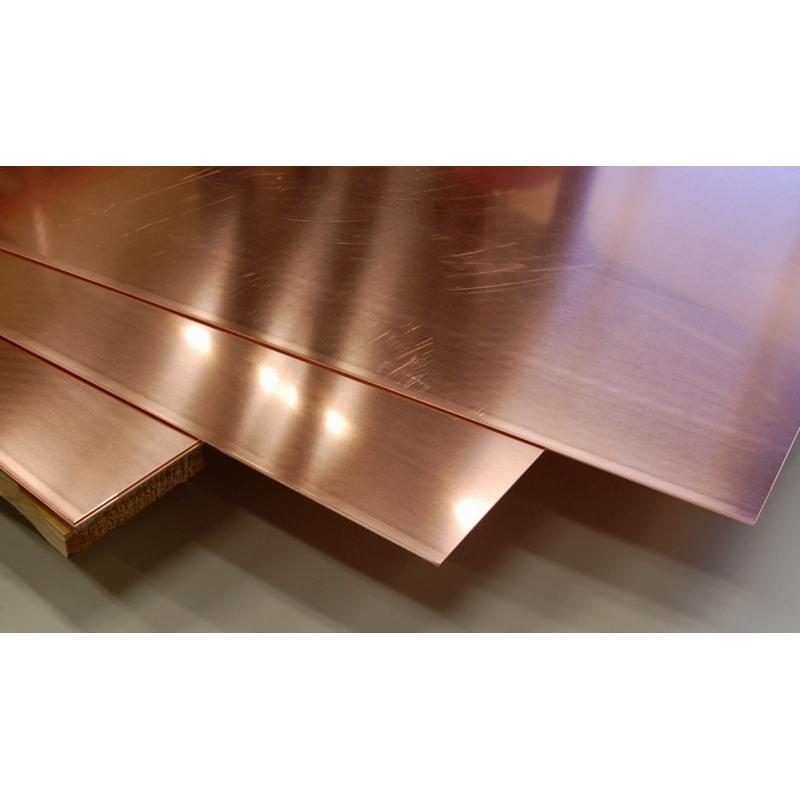 Plaques de terre cuivre 2g electric for Feuille de cuivre toiture