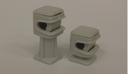 Supports isolants conducteurs ronds