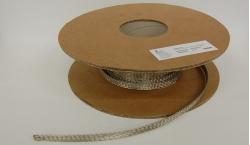 Tresse plate cuivre étamé